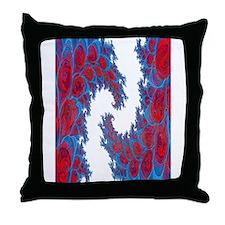 Fractal Explosion Throw Pillow