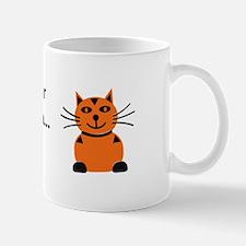 Christmas Kitten Mug