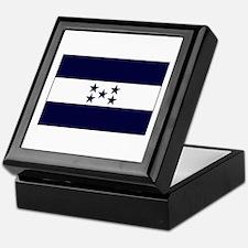 Honduran Flag Keepsake Box