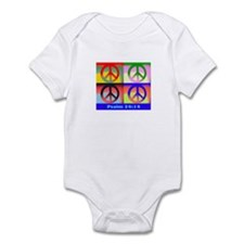 Andy peace sign Infant Bodysuit
