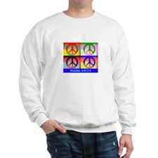 Andy peace sign Sweatshirt