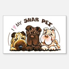 Chinese Shar Pei Lover Decal