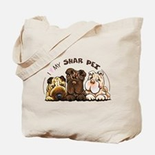 Chinese Shar Pei Lover Tote Bag