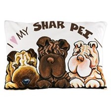 Chinese Shar Pei Lover Pillow Case