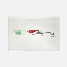 Formula 1 Italy Rectangle Magnet (10 pack)