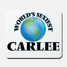 World's Sexiest Carlee Mousepad