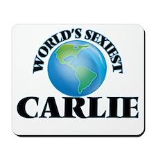World's Sexiest Carlie Mousepad