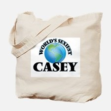 World's Sexiest Casey Tote Bag