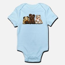 3 Chinese Shar Pei Body Suit