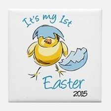 It's My First Easter 2015 Tile Coaster