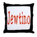 Jewish Latino Jewtino Throw Pillow