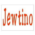 Jewish Latino Jewtino Small Poster