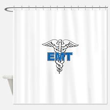 EMT-Paramedic Shower Curtain