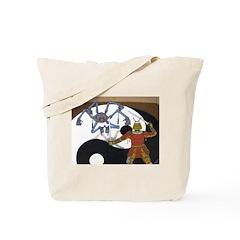 Robot vs Samurai Tote Bag