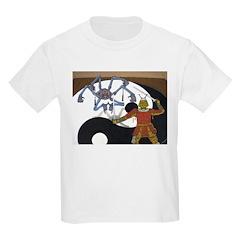 Robot vs Samurai Kids T-Shirt