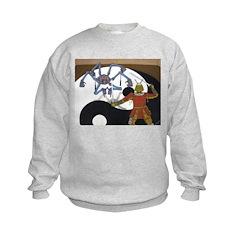 Robot vs Samurai Sweatshirt