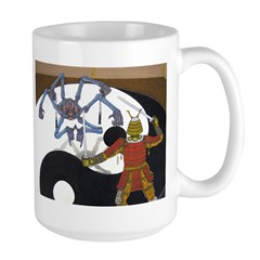 Robot vs Samurai Mug