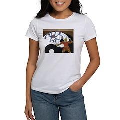 Robot vs Samurai Women's T-Shirt