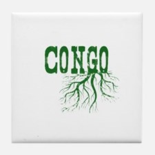 Congo Roots Tile Coaster