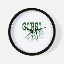 Congo Roots Wall Clock