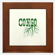 Congo Roots Framed Tile