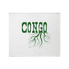 Congo Roots Throw Blanket