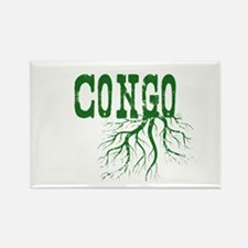 Congo Roots Rectangle Magnet