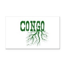 Congo Roots Rectangle Car Magnet