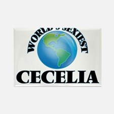 World's Sexiest Cecelia Magnets