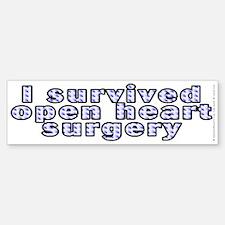 Open heart surgery - Bumper Bumper Sticker
