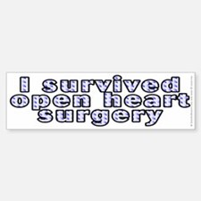 Open heart surgery - Sticker (Bumper)