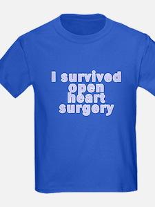 Open heart surgery - T