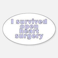 Open heart surgery - Decal