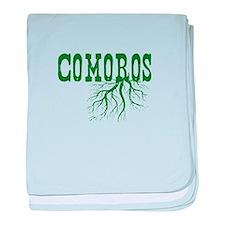 Comoros Roots baby blanket