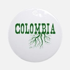 Colombia Roots Ornament (Round)