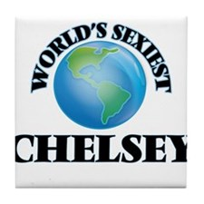 World's Sexiest Chelsey Tile Coaster