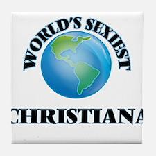 World's Sexiest Christiana Tile Coaster