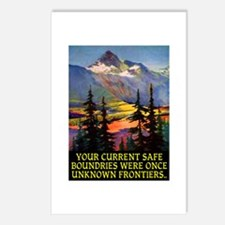 UNKNOWN FRONTIERS... Postcards (Package of 8)