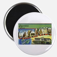 """Greetings from Oklahoma 2.25"""" Magnet (100 pack)"""