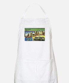 Greetings from Oklahoma BBQ Apron