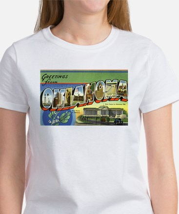 Greetings from Oklahoma Women's T-Shirt