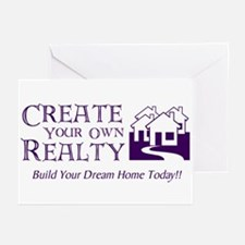 Create Your Own Realty Greeting Cards (Package of