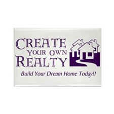 Create Your Own Realty Rectangle Magnet