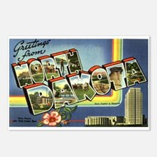 Greetings from North Dakota Postcards (Package of