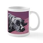 Black Labrador Beauty Sleep Mug #2