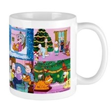 A Garfield Christmas Mugs