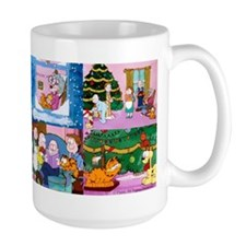 A Garfield Christmas Large Mugs