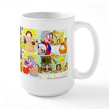 Garfield's Thanksgiving Large Mugs