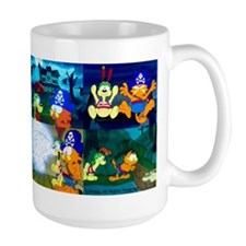 Garfield's Halloween Adventure Large Mugs