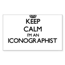 Keep calm I'm an Iconographist Decal